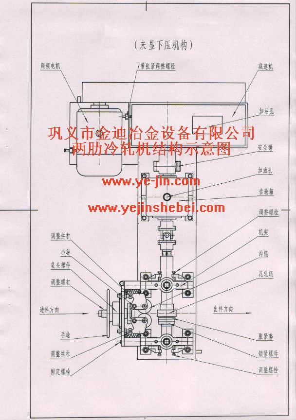 两肋冷轧机结构图